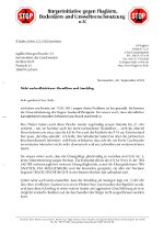 Brief an Andreas Korb