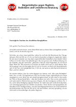 Brief an Ministerpräsidentin Annegret Kramp-Karrenbauer