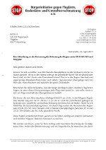 Brief an die WTD 61