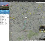 Air Berlin in 3000 Metern